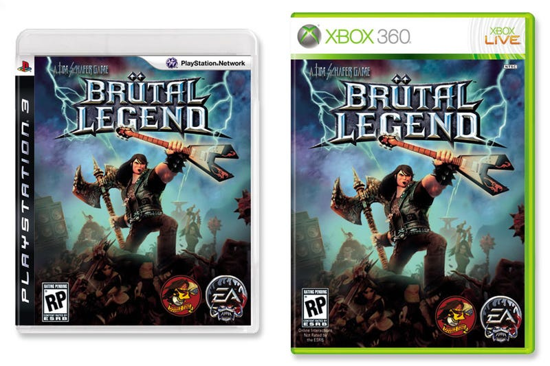 Illustration for article titled Brütal Legend Box Art Hits All The Right Notes