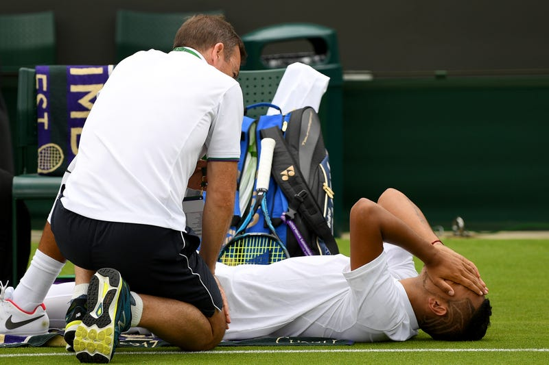 Kyrgios scared by prospect of hip surgery