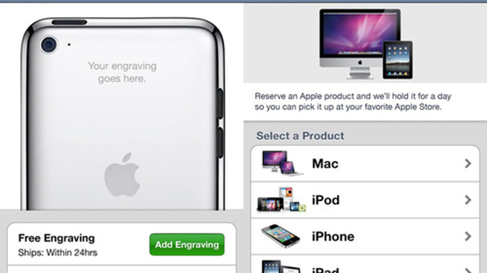 Make Genius Bar Appointments and Engrave Stuff in the New ... - photo#32