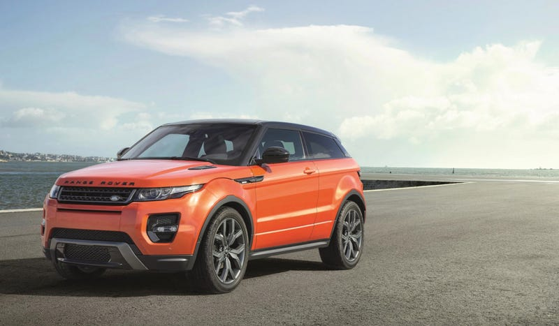Illustration for article titled The Range Rover Evoque Autobiography Dynamic Is Land Rover's Hot Hatch