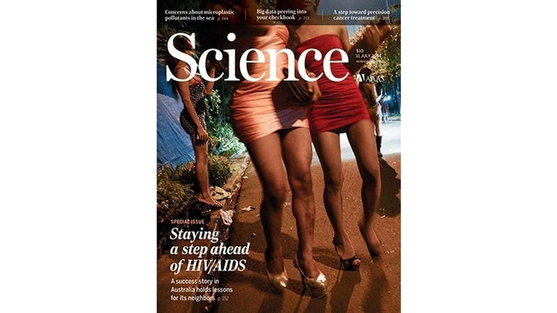 Illustration for article titled Science Magazine Cover's Depiction of Trans Sex Workers Sparks Outrage