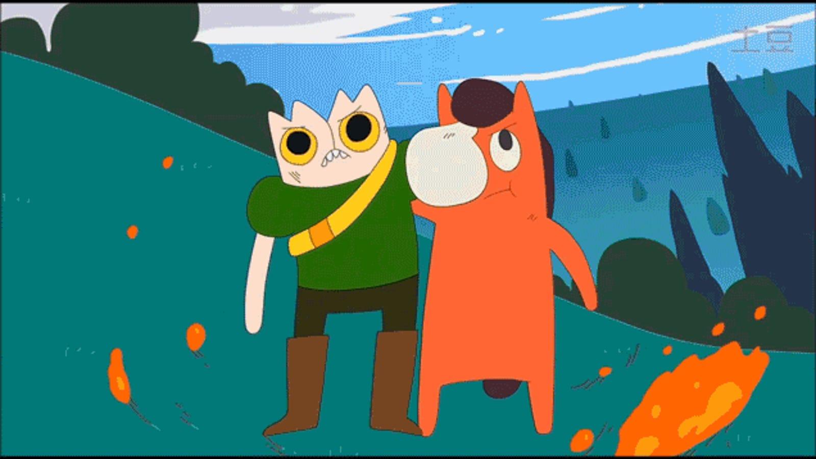 Si te gusta Adventure Time, tienes que ver esta delirante versión hecha en China