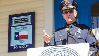 San Antonio Police Department Chief William McManus speaks on Nov. 18, 2015, in San Antonio.Rick Kern/Getty Images for Marisol Deluna