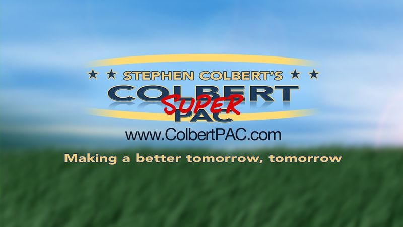 Illustration for article titled Study confirms the best way to learn about campaign financing is from Stephen Colbert