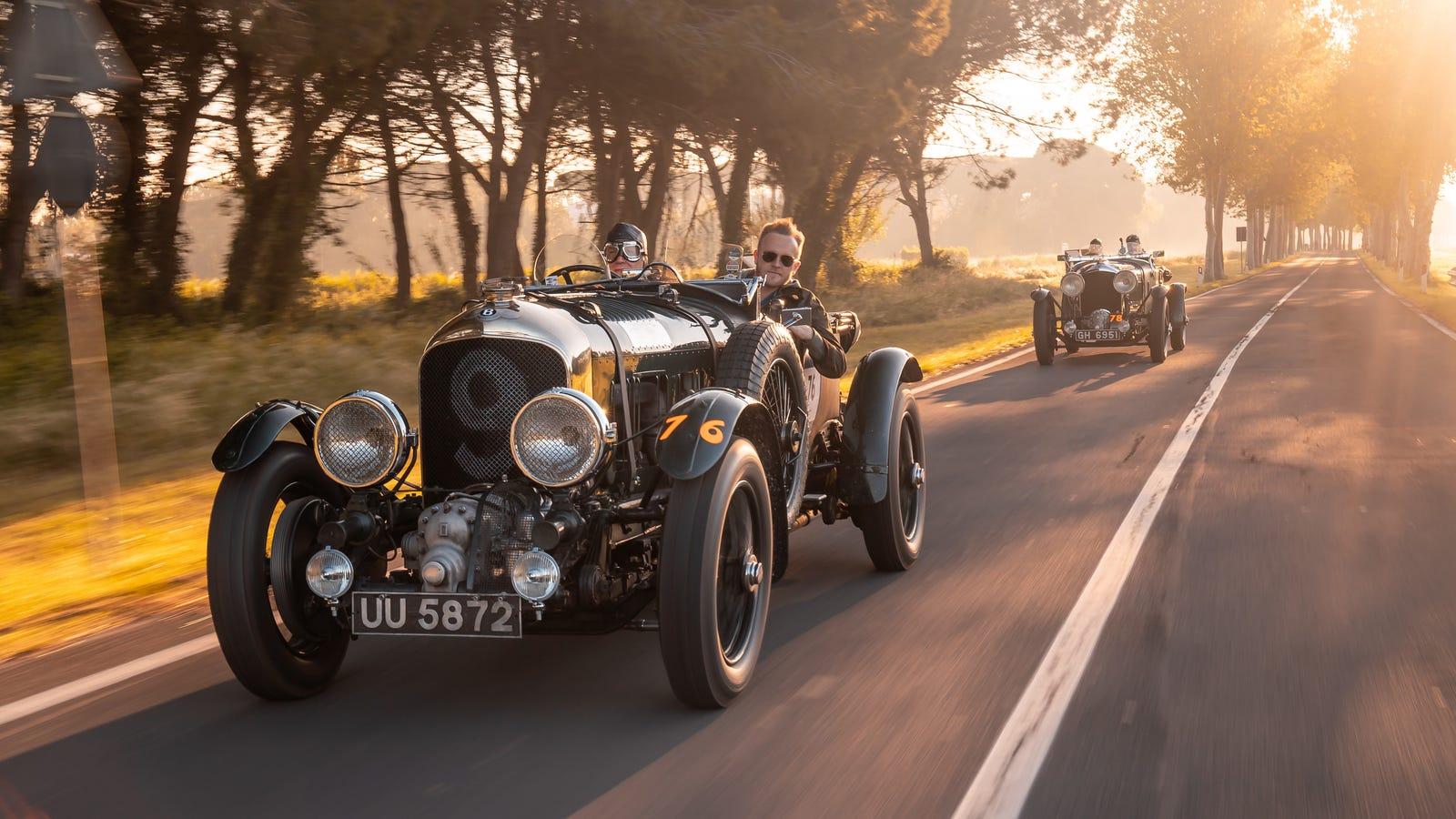 Bentley Is Making 12 Replicas Of Its Legendary 1929 4½ Litre Team Blower
