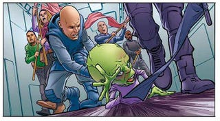 Illustration for article titled Dan Dare is back! Be careful what you wish for ...