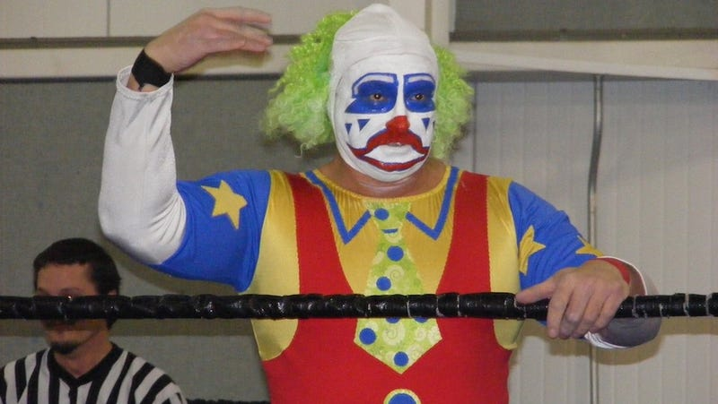 Illustration for article titled Doink The Clown Has The Shits: More Wrestler Run-Ins
