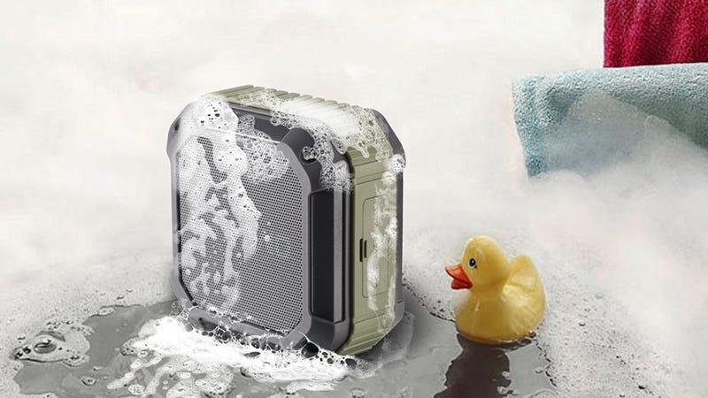 Omaker M4 Splash-Proof Bluetooth Speaker, $18 with code LIFEHCER