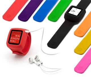 Illustration for article titled Griffin's iPod Nano Slap Bracelet Has the Early '90s Totally Confused