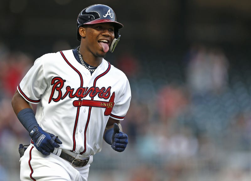 Illustration for article titled It Is Unconscionable How Hot Ronald Acuña Is Right Now