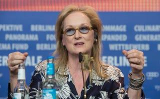 Meryl StreepJOHN MACDOUGALL/AFP/Getty Images