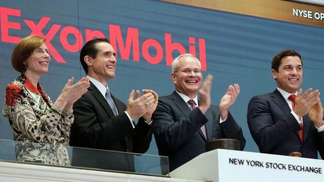 Exxon Continues Unprecedented Tumble
