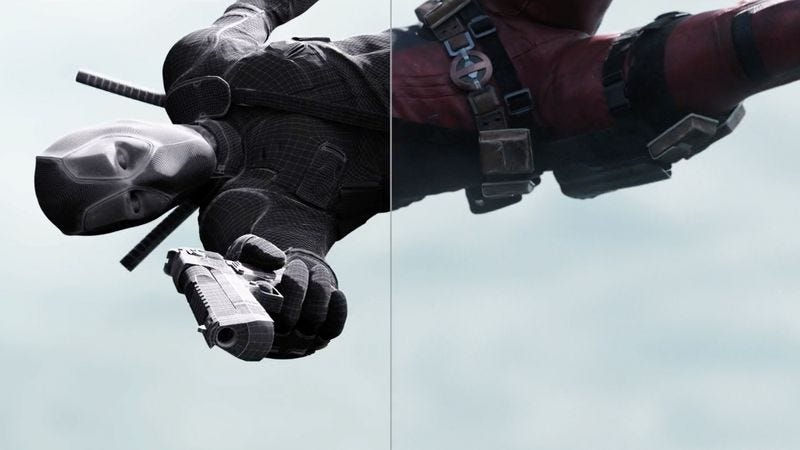 Illustration for article titled Very little is real in this Deadpool VFX breakdown