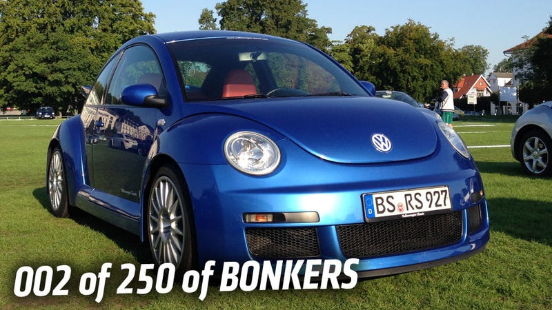 We Drove The 2001 VW Beetle RSi: It's A VR6-Powered New Beetle In An Iron Man Suit