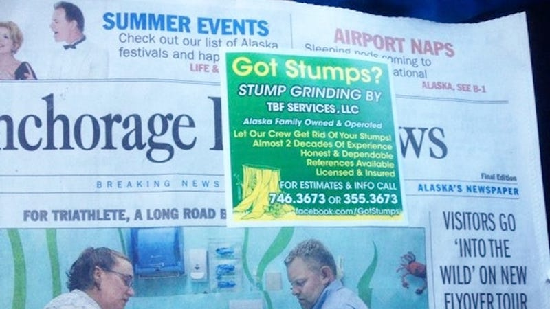 Illustration for article titled This Might Be the Worst Ad Placement Ever