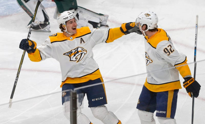 Subban scores twice, Predators rout skidding Canucks 7-1