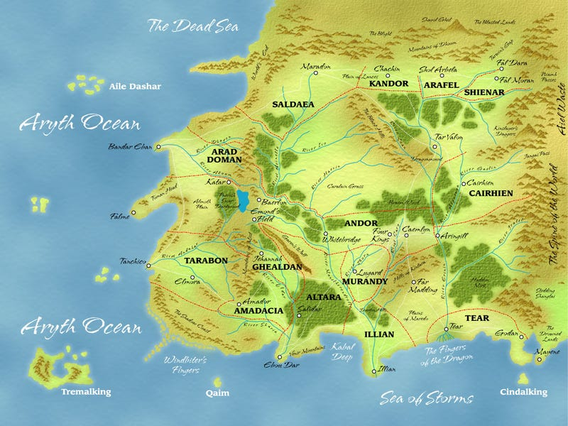 Illustration for article titled An Index of Dozens of Maps from Epic Fantasy Novels