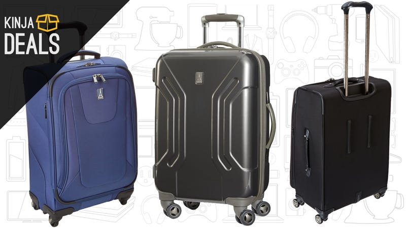 Illustration for article titled Prep For Your Holiday Trip With Huge Discounts on Travelpro Luggage, Today Only