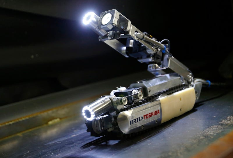 Illustration for article titled New 'Scorpion' Robot Will Inspect Fukushima Reactor This Summer