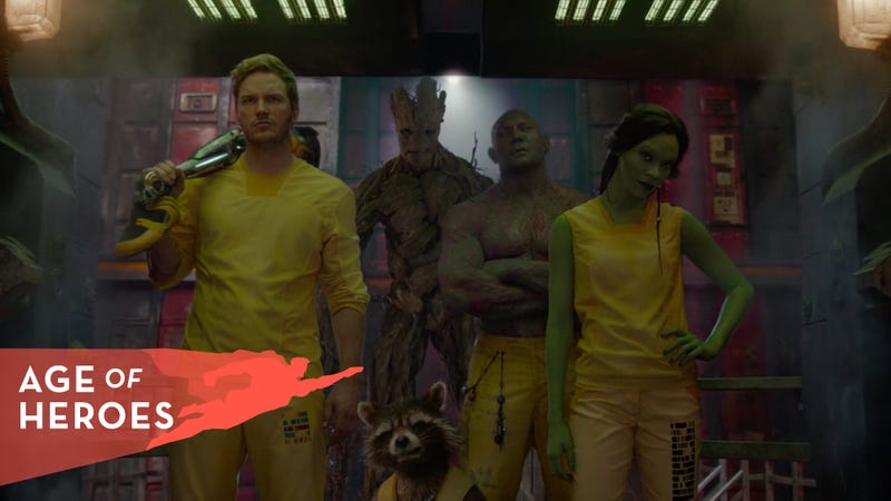 With Guardians Of The Galaxy, Marvel made household names