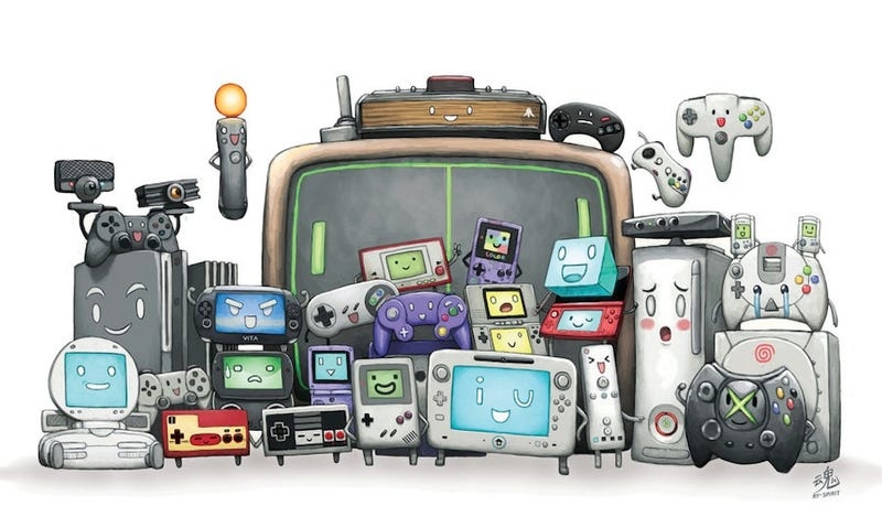 Illustration for article titled Your Friends, The Video Game Systems