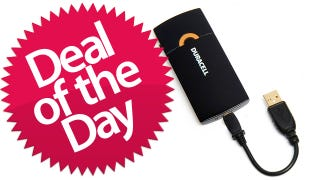 Illustration for article titled The Duracell USB Charger w/ AC Adapter Is Your Crap-My-Phone-Is-Dying Deal of the Day