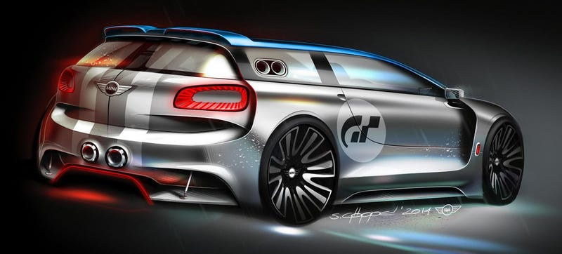 Illustration for article titled Get The 395 HP AWD Mini Clubman You Always Wanted In Gran Turismo 6