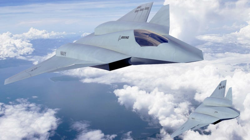 Illustration for article titled The Navy's Next Gen Fighter Jets Will Heal Themselves