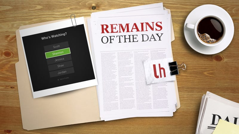 Illustration for article titled Remains of the Day: Hulu Adds Multiple Profiles to Make Sharing Your Account Easier
