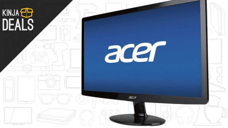 Illustration for article titled Holy Crap, This 1080p Computer Monitor Is Just $50 Right Now