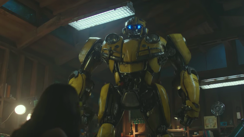 Illustration for article titled The New Bumblebee Movie Looks Like The Iron GiantIf He Was Made From VW Parts