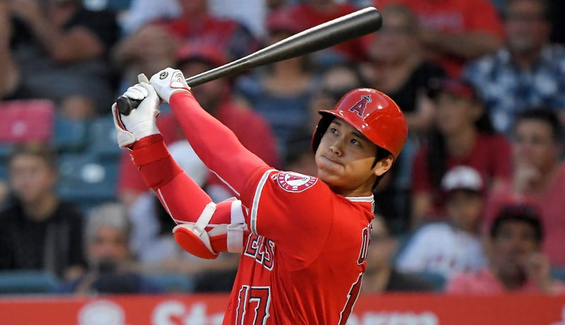 Illustration for article titled Shohei Ohtani Will Throw Again Soon, And He's Still Smacking Big Dingers While He Waits