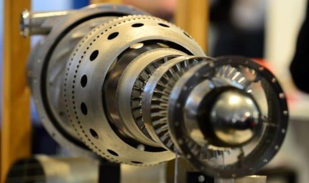 Motor de avión, La aviación en 3D, piezas impresas con esta tecnología