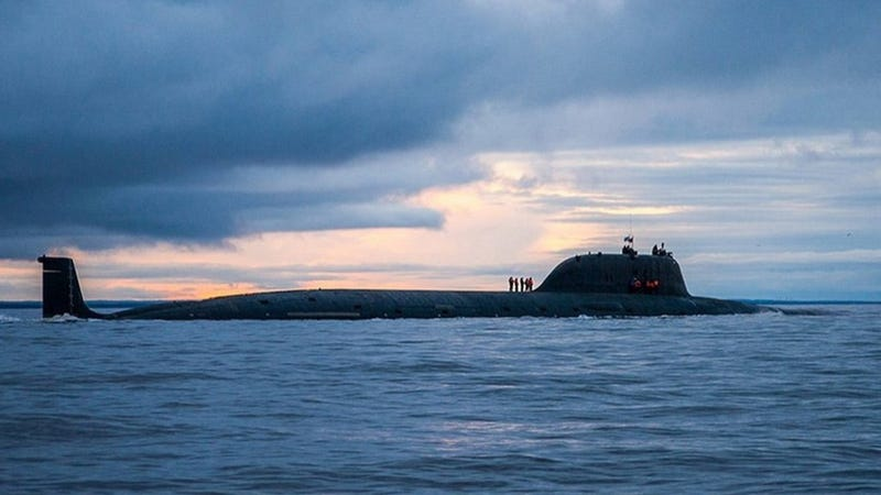 A Yasen-class submarine. Photo credit: Russian Ministry of Defense.