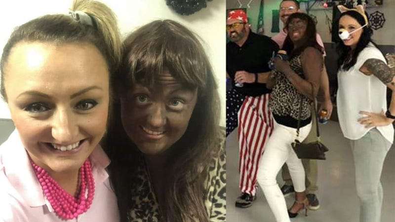Illustration for article titled Iowa Teacher Who Wore Blackface Cries Whitest Tears Ever