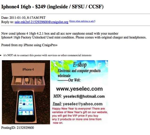 iphone 5 craigslist how to shop for a used iphone on craigslist 10976