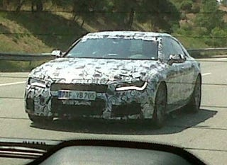 A Swirly Camouflaged Audi S7 Or Perhaps Rs7 Is Making The Rounds In Ingolstadt Rumors Have Getting New Twin Turbo 4 0 Liter V8 With