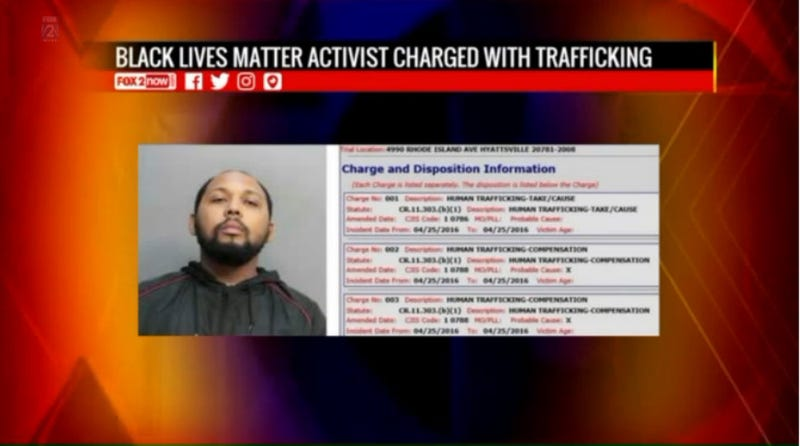 Illustration for article titled Black Lives Matter Activist Accused of Trafficking 17-Year-Old Girl