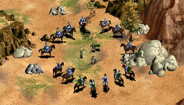 Mod Brings Lord Of The Rings To Age Of Empires