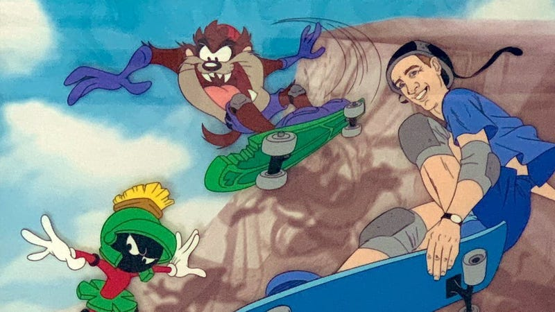 Illustration for article titled There Was Nearly A Sequel To Space Jam About Skateboarding