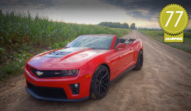 Illustration for article titled Chevrolet Camaro ZL1 Convertible: The Jalopnik Review
