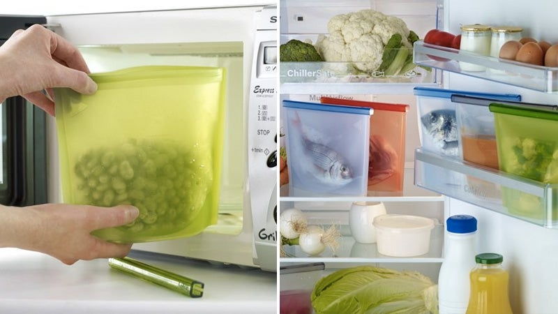 Silicone Storage Bags Will Make You Wish Every Meal Was