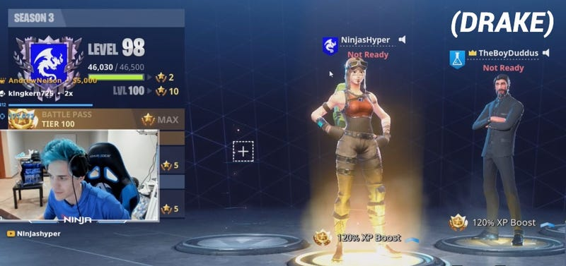Over 600,000 People Tuned in to Watch Drake Play Fortnite
