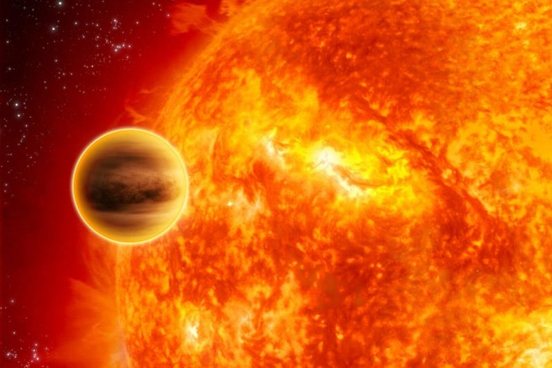 Illustration for article titled Hot Jupiters Create Chaos for Their Stars