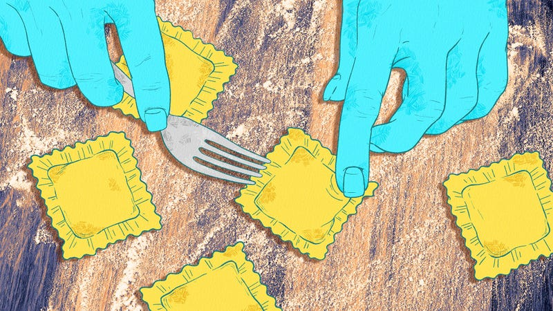 Illustration for article titled How I learned to make ravioli in my tiny kitchen