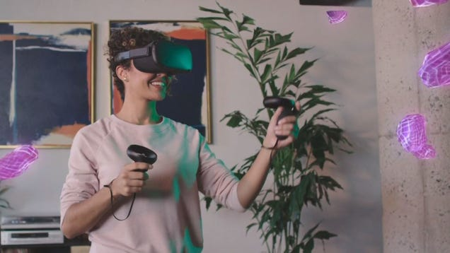 The Oculus Quest Is Real: Facebook Promises $400 Standalone VR This Spring