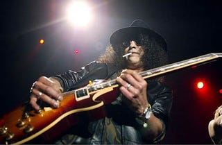 """Illustration for article titled Slash Says Gaming And Music Have """"Endless"""" Possibilities"""