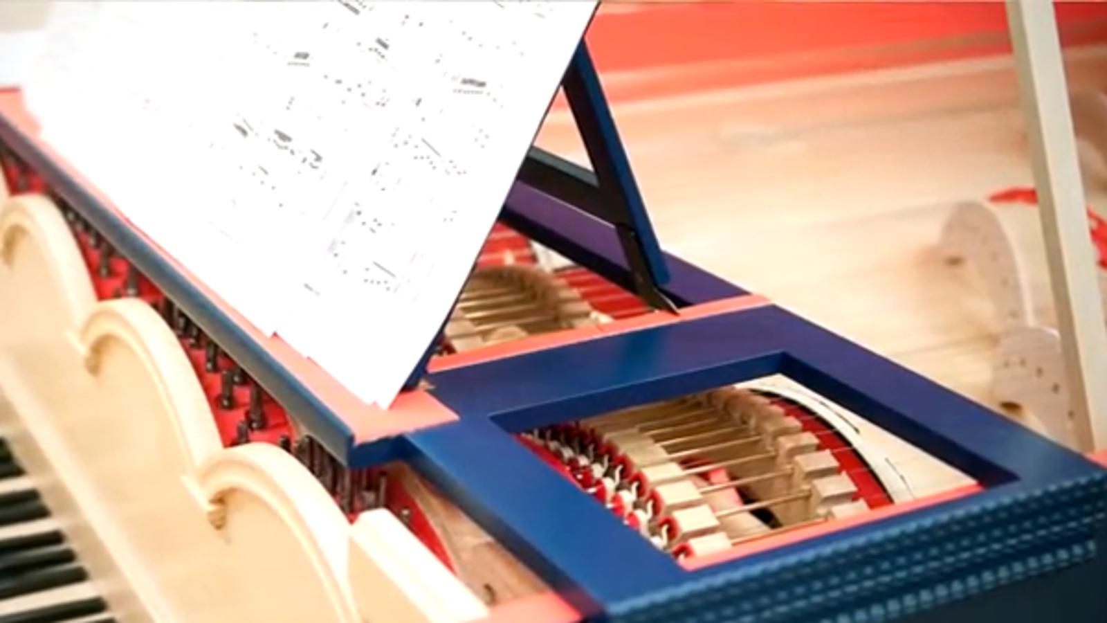 Así suena el instrumento que Da Vinci nunca llegó a fabricar