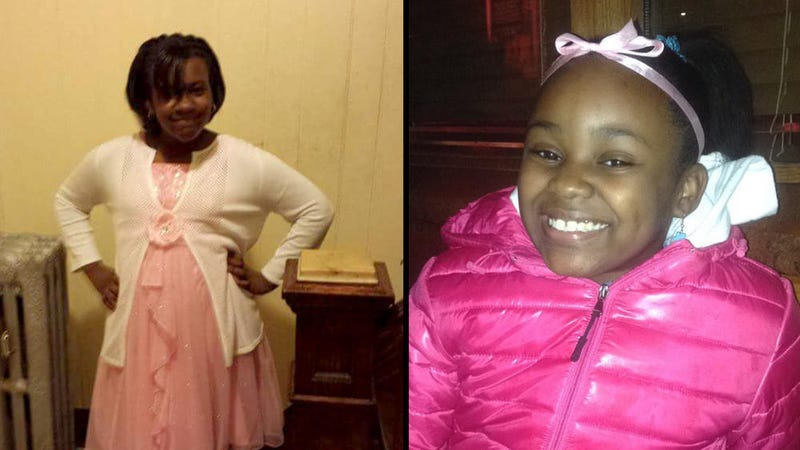 Kanari Gentry Bowers, 12; Takiya Holmes, 11 (family photos)