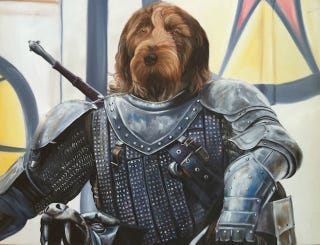 Illustration for article titled These Artists Painted People's Pets As Game Of Thrones Characters